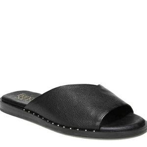NWOT Franco Sarto Riviera Flat Sandal Leather 7.5
